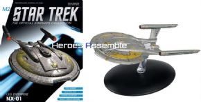 Star Trek Official Starships Collection M2 Mirror Universe ISS Enterprise NX-01 Eaglemoss